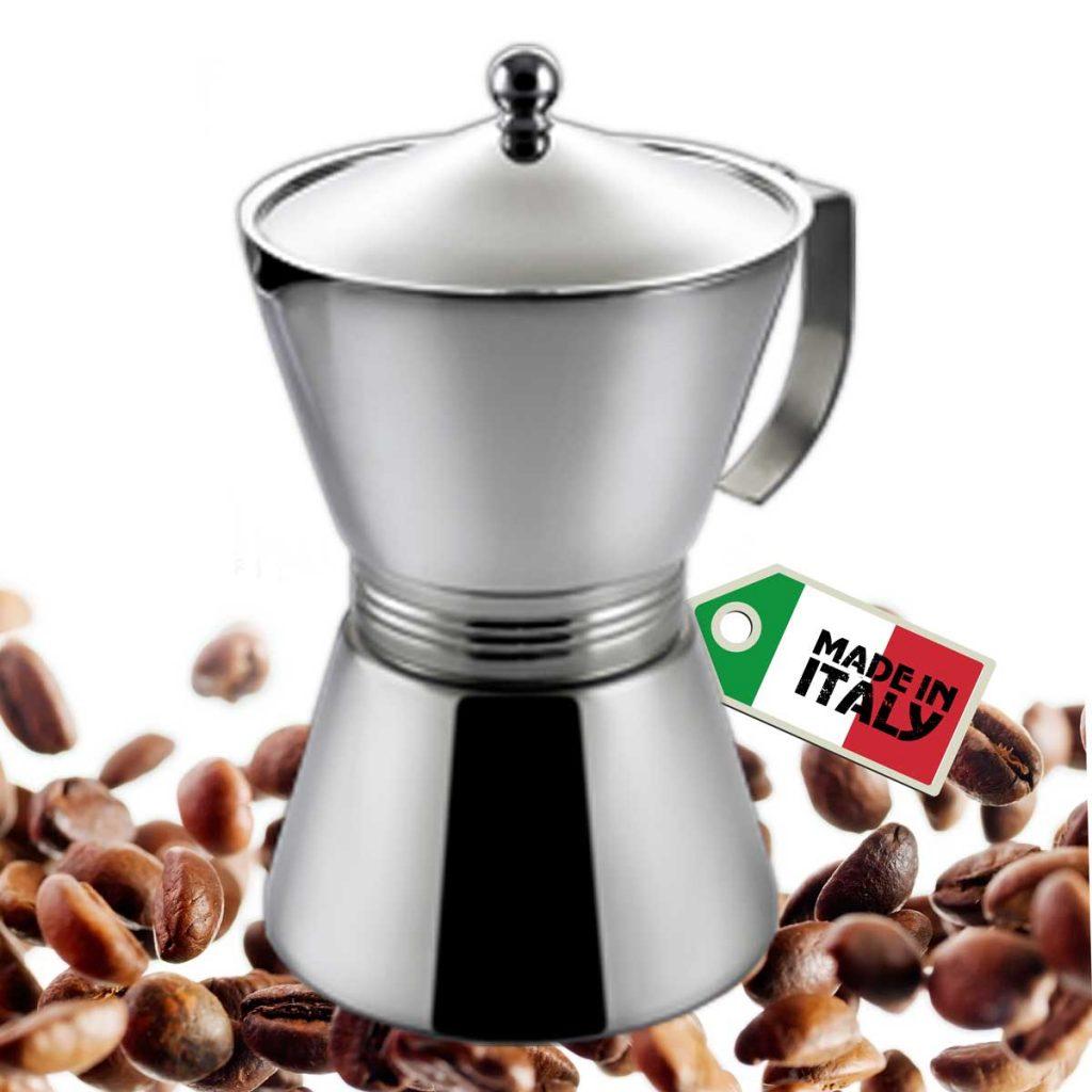 Caffettiera tazze 12 BestMoka prodotta in Italia